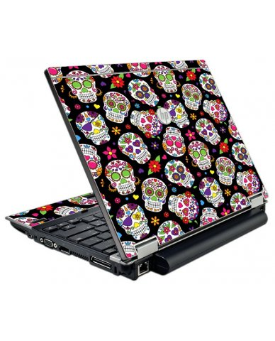 Sugar Skulls HP EliteBook 2540P Laptop Skin