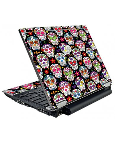 Sugar Skulls Seven HP EliteBook 2540P Laptop Skin