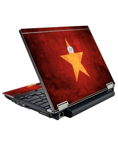 Vietnam Flag HP EliteBook 2540P Laptop Skin