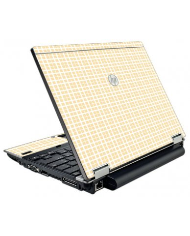 Warm Plaid HP EliteBook 2540P Laptop Skin