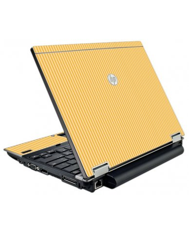 Warm Stripes HP Elitebook 2540P Laptop Skin