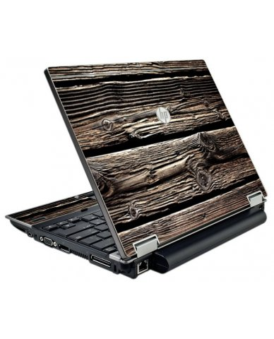 Wood HP EliteBook 2540P Laptop Skin