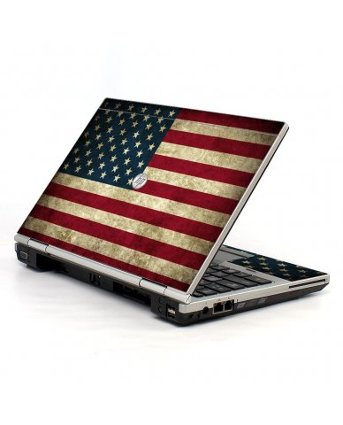 American Flag HP EliteBook 2560P Laptop Skin