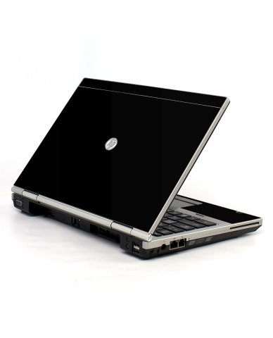 Black HP EliteBook 2560P Laptop Skin