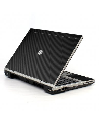 Black Carbon Fiber HP EliteBook 2560P Laptop Skin