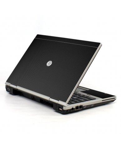 Black Carbon Fiber HP EliteBook 2560P Laptop Skin