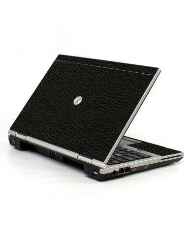 Black Leather HP EliteBook 2560P Laptop Skin