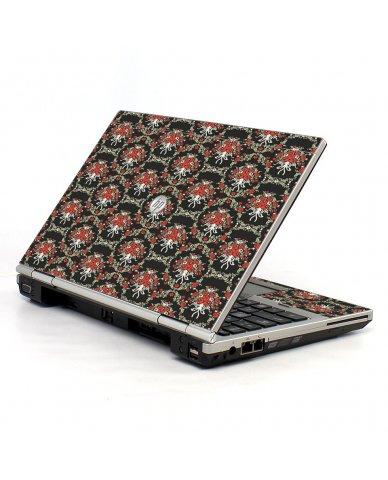 Flower Black Versailles HP EliteBook 2560P Laptop Skin