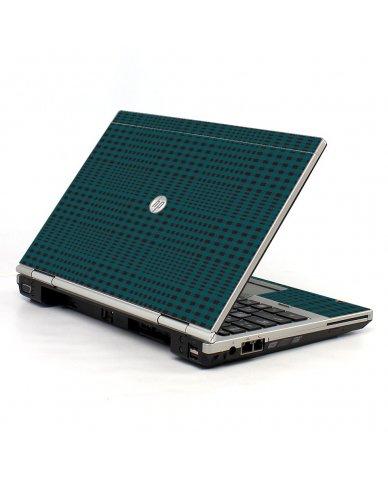 Green Flannel HP EliteBook 2560P Laptop Skin