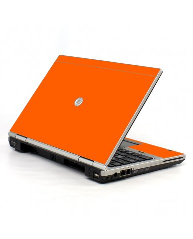 Orange HP EliteBook 2560P Laptop Skin
