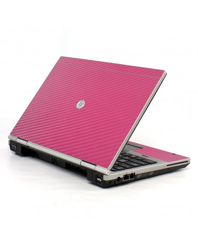 Pink Carbon Fiber HP EliteBook 2560P Laptop Skin