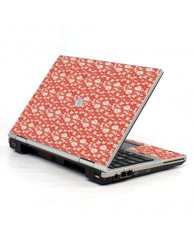 Pink Roses HP EliteBook 2560P Laptop Skin