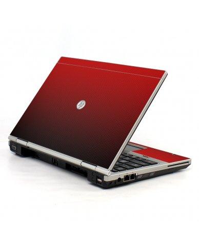 Red Carbon Fiber HP EliteBook 2560P Laptop Skin