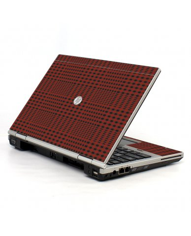 Red Flannel HP EliteBook 2560P Laptop Skin