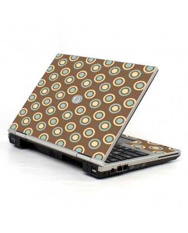 Retro Polka Dot HP EliteBook 2560P Laptop Skin