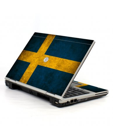 Swedish Flag HP EliteBook 2560P Laptop Skin