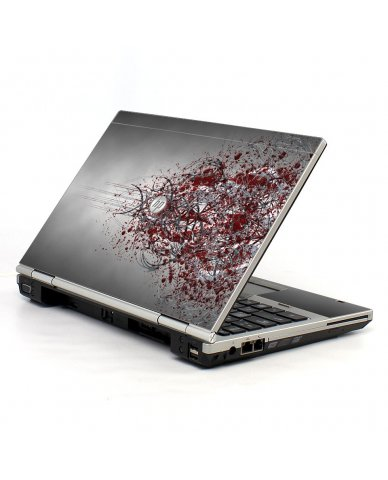 Tribal Grunge HP EliteBook 2560P Laptop Skin