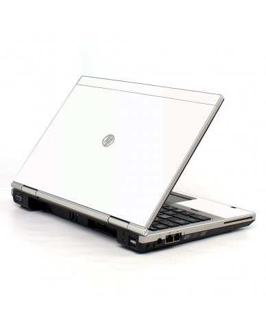 White HP EliteBook 2560P Laptop Skin