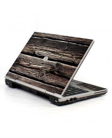 Wood HP EliteBook 2560P Laptop Skin
