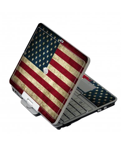 American Flag HP EliteBook 2730P Laptop Skin