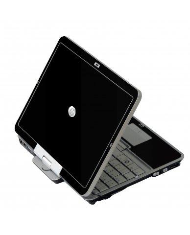 Black HP EliteBook 2730P Laptop Skin