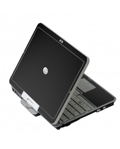 Black Carbon Fiber HP EliteBook 2730P Laptop Skin