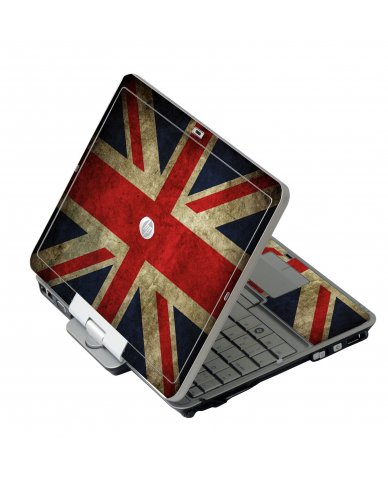 British Flag HP EliteBook 2730P Laptop Skin