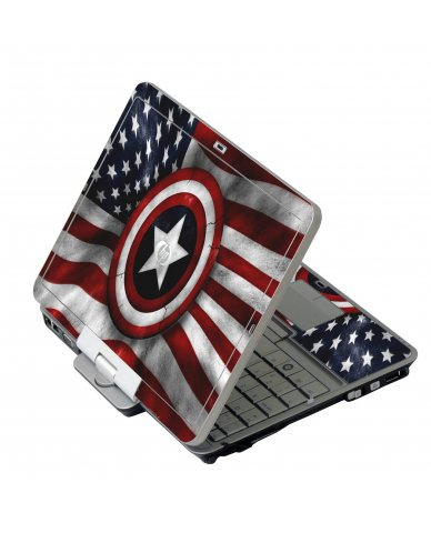 Capt America Flag HP EliteBook 2730P Laptop Skin