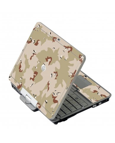 Desert Camo HP EliteBook 2730P Laptop Skin