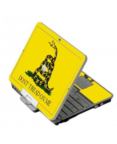 Dont Tread On Me HP EliteBook 2730P Laptop Skin