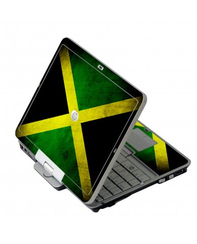 Jamaican Flag HP EliteBook 2730P Laptop Skin