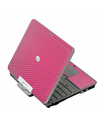 Pink Carbon Fiber HP EliteBook 2730P Laptop Skin