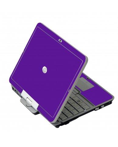 Purple HP EliteBook 2730P Laptop Skin