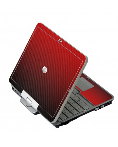 Red Carbon Fiber HP EliteBook 2730P Laptop Skin