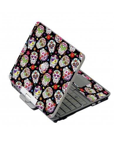Sugar Skulls HP EliteBook 2730P Laptop Skin