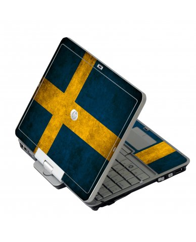 Swedish Flag HP EliteBook 2730P Laptop Skin