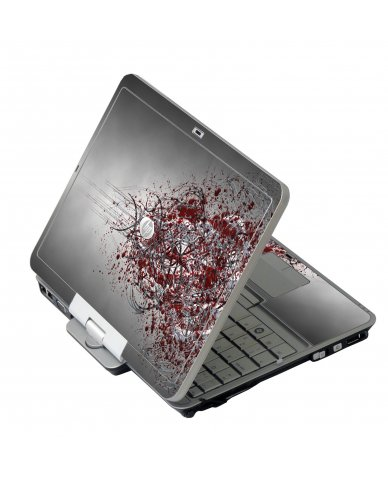Tribal Grunge HP EliteBook 2730P Laptop Skin