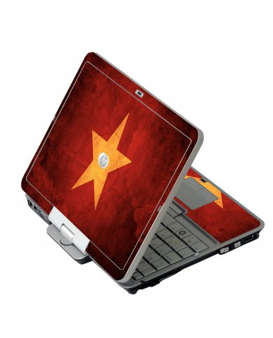 Vietnam Flag HP EliteBook 2730P Laptop Skin