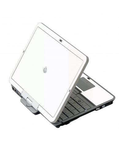 White HP EliteBook 2730P Laptop Skin