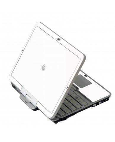 White HP EliteBook 2730P Laptop Skin