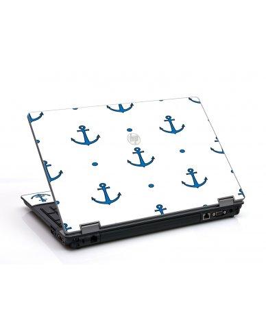 Blue Anchors HP ProBook 6455B Laptop Skin