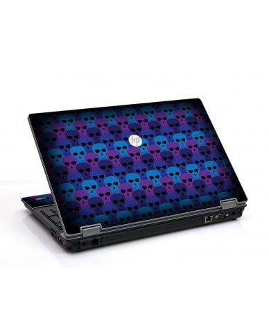 Blue Skulls HP ProBook 6455B Laptop Skin