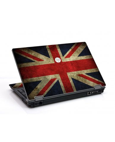 British Flag HP ProBook 6455B Laptop Skin
