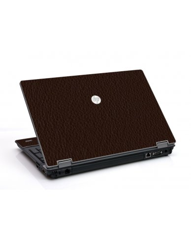 Brown Leather HP ProBook 6455B Laptop Skin