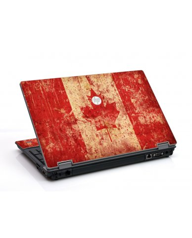 Canada Flag HP ProBook 6455B Laptop Skin