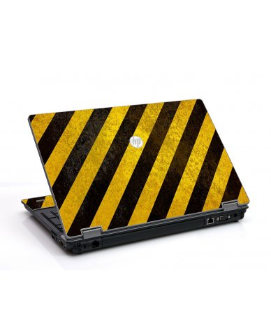 Caution Stripes HP ProBook 6455B Laptop Skin