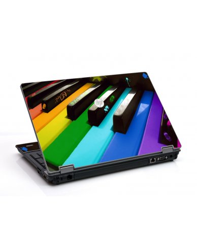 Colorful Piano HP ProBook 6455B Laptop Skin