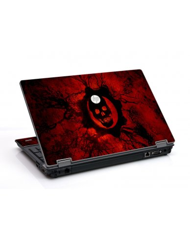 Dark Skull HP ProBook 6455B Laptop Skin