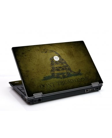 Green Dont Tread Flag HP ProBook 6455B Laptop Skin
