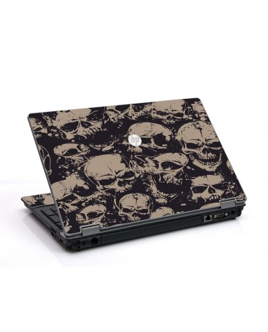 Grunge Skulls HP ProBook 6455B Laptop Skin